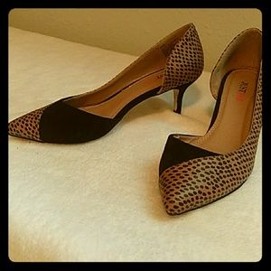 JustFab 2 inch heels